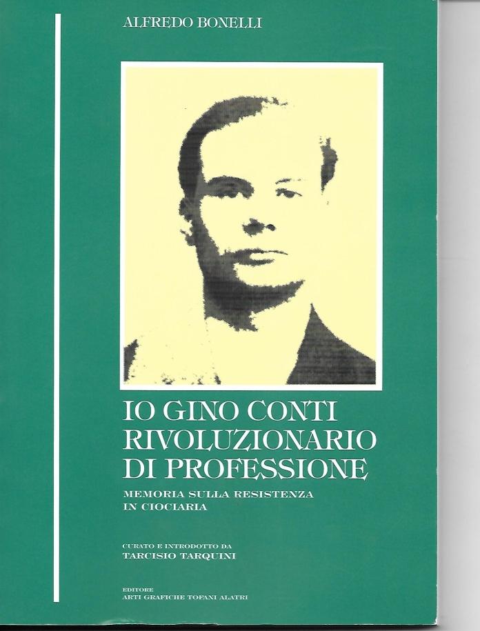 """La copertina della """"memoria"""" di Alfredo Bonelli alias Gino Conti"""